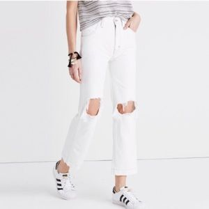 Madewell Where I Was From Slim Straight Crop